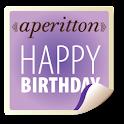Aperitton Birthday Wishes icon
