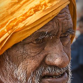 Pilgrim by Ajay Halder - People Portraits of Men (  )