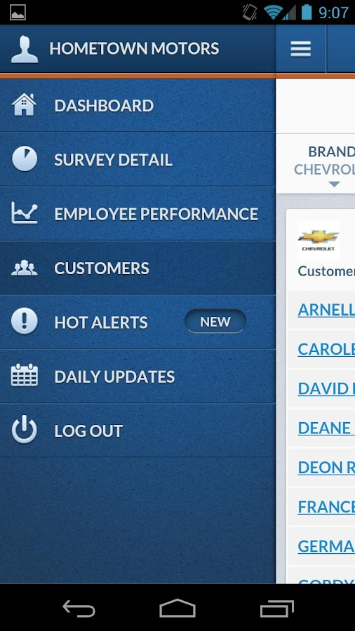 DealerPulse Mobile- screenshot