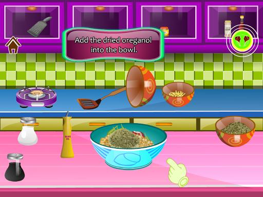 ゲームを調理ラムチョップ