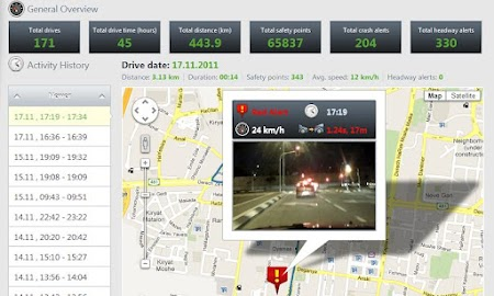 iOnRoad Augmented Driving Lite Screenshot 7