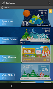 Lollipop Card UI Style Widget- screenshot thumbnail