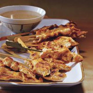Wolfgang Puck's Curried Chicken Satay.