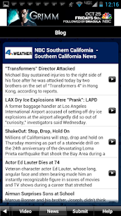 NBC LA Weather - screenshot thumbnail