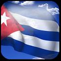3D Cuba Flag + icon