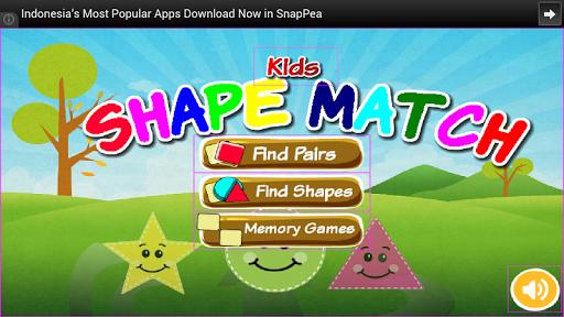 Shape Match for Kids