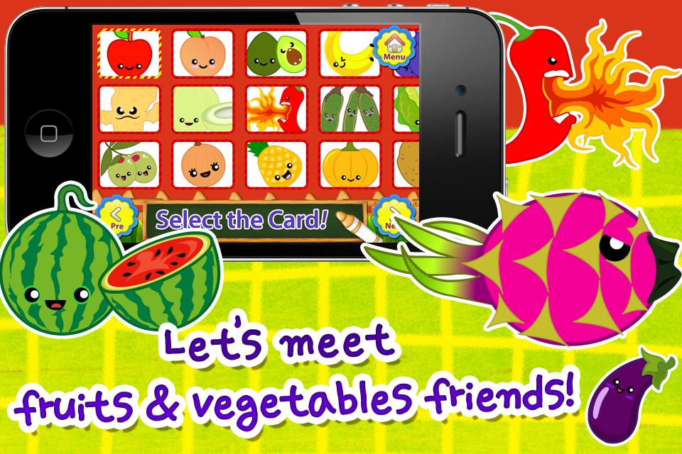 ABC Fruits English Flashcards- screenshot