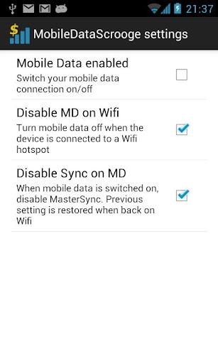 MobileDataScrooge