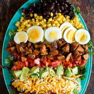 BBQ Chicken Cobb Salad.