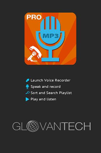 Smart Call Recorder MP3 PRO