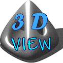 3D Viewer logo