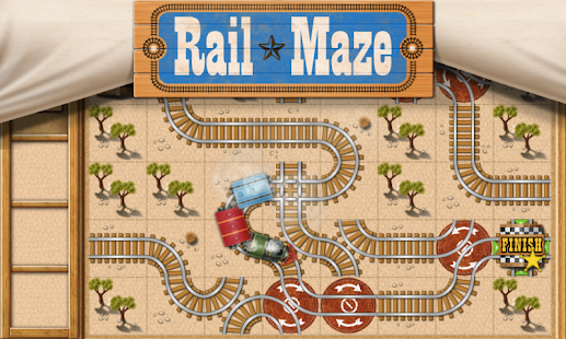 Rail Maze : Train puzzler - screenshot thumbnail