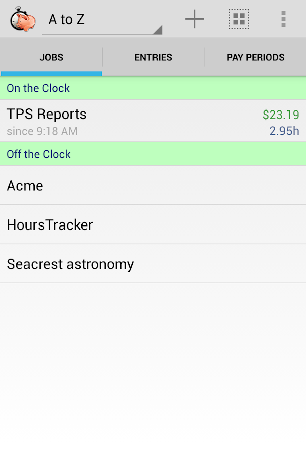 HoursTracker Pro - screenshot