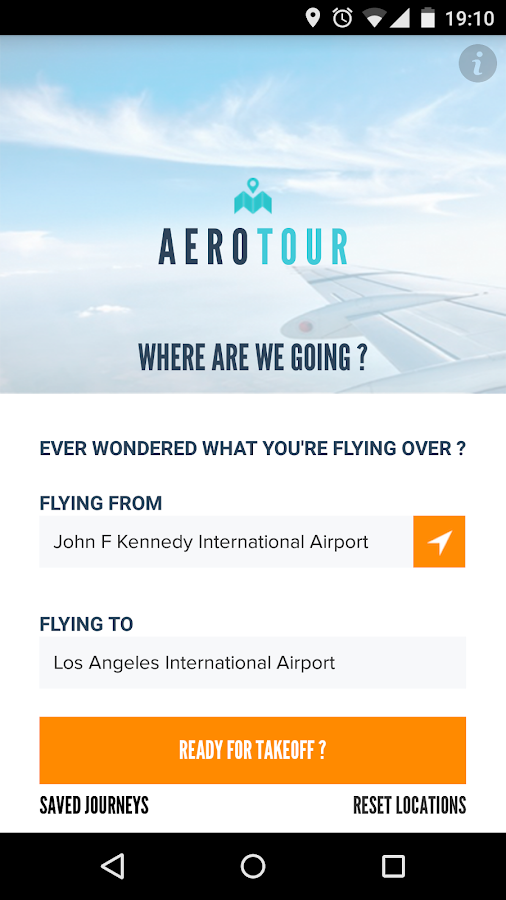 AeroTour Flight Tracker Timer- screenshot