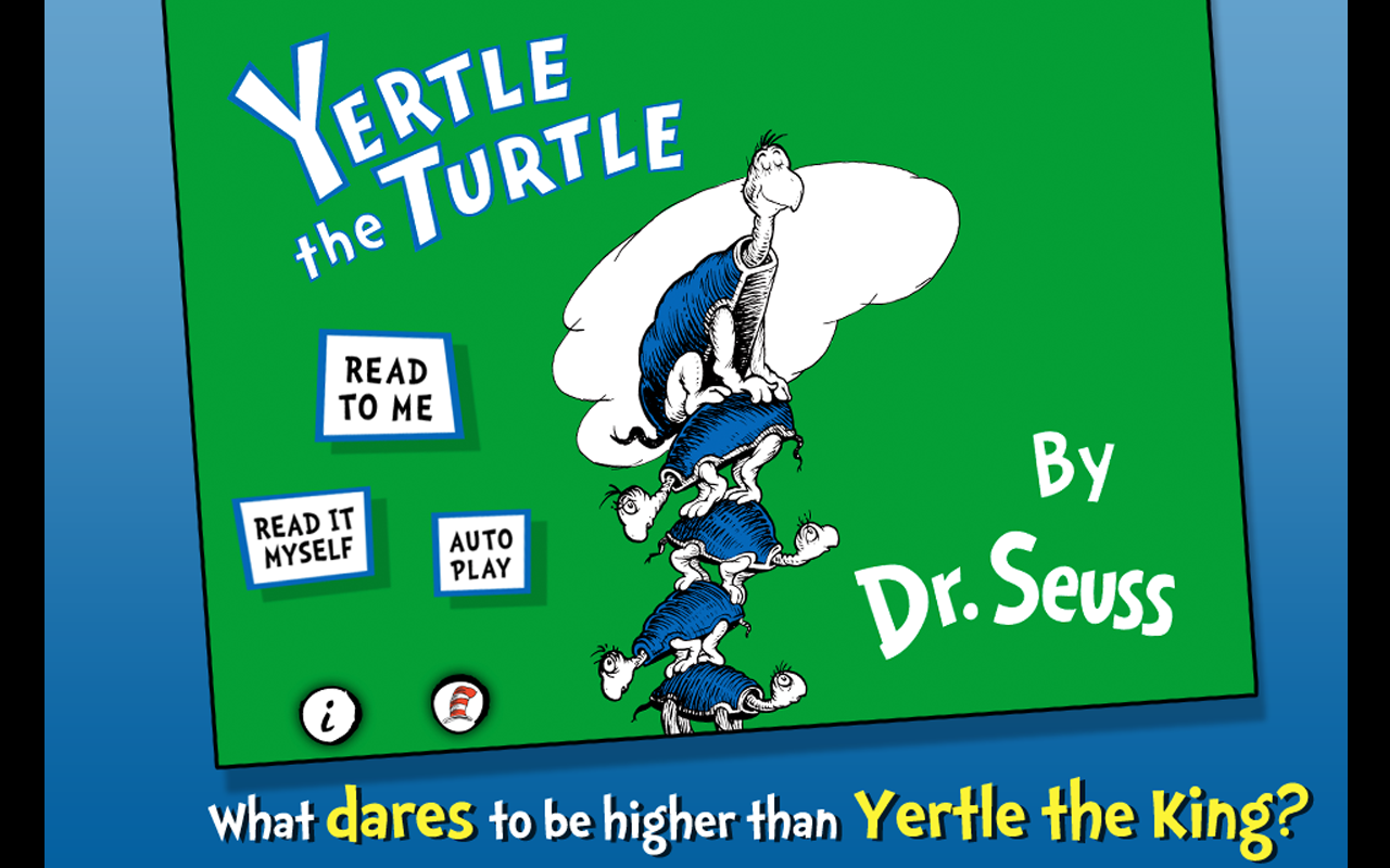 Yertle the Turtle - Dr. Seuss - screenshot