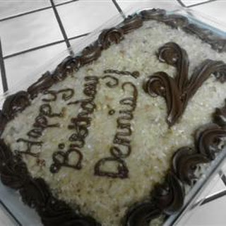German Sweet Chocolate Cake II