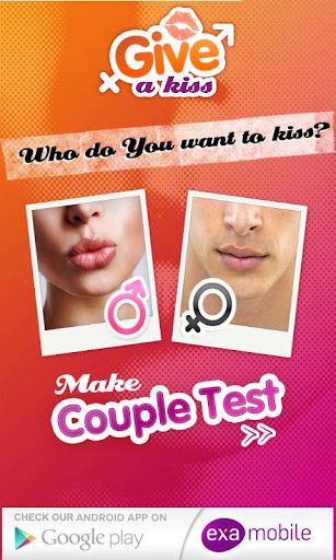 一個吻 - 接吻測試