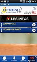Screenshot of Littoral FM