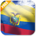 3D Ecuador Flag Live Wallpaper icon