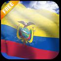 3D Ecuador Flag icon