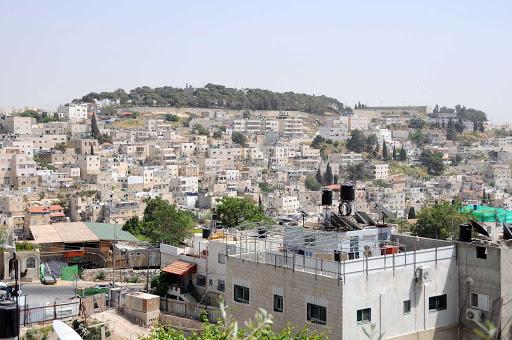 Jerusalem-hillside - A hillside on the outskirts of Jerusalem.