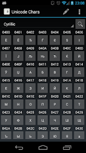 Unicode Chars screenshot 4