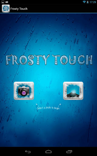 Frosty Touch