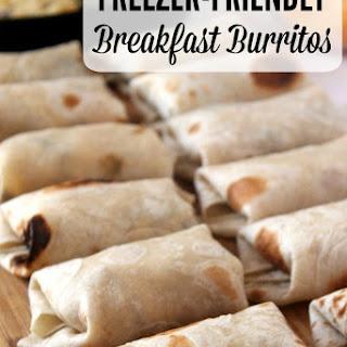 Perfect Breakfast Burritos {Freezer-Friendly}