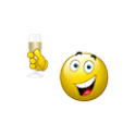 New Year Emoticons icon