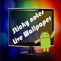 Sticky Notes Live Wallpaper logo