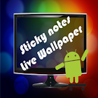 Sticky Notes Live Wallpaper icon