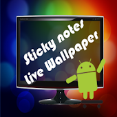 Sticky Notes Live Wallpaper