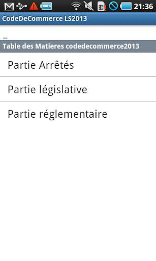 Code de Commerce LS 2014