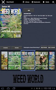 Weed World Magazine - screenshot thumbnail