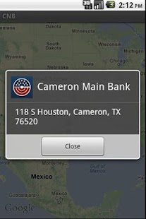 CITIZENS NATIONAL BANK TEXAS - screenshot thumbnail