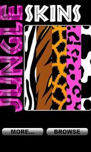 Jungle Skins - Wallpaper