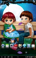Screenshot of Romantic Live Wallpaper