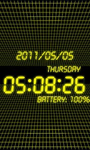 battery clock Pro- screenshot thumbnail
