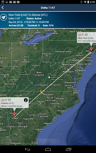 Atlanta Airport ATL Radar