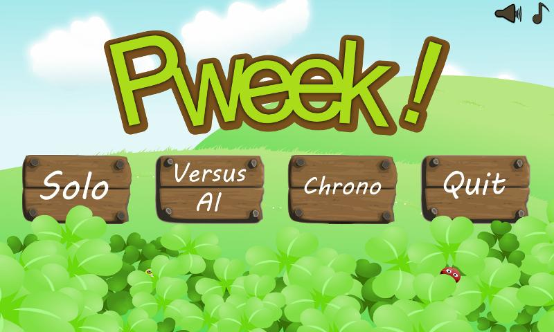 Pweek - screenshot