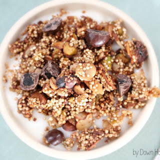 Chocolate, Cranberry, Pistachio, Quinoa Granola