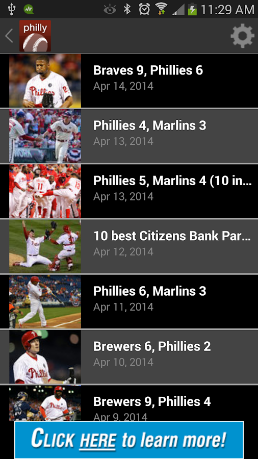 Philly Pro Baseball - screenshot