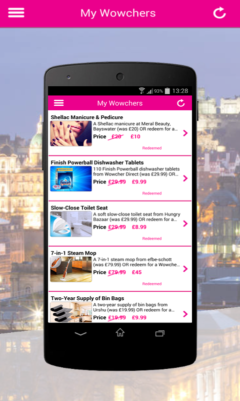 Wowcher – Deals & Vouchers - screenshot