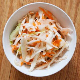 Quick Curtido (Mexican Cabbage Slaw).