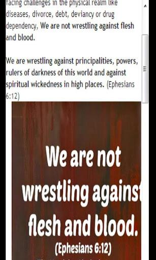 基督徒属灵争战武器
