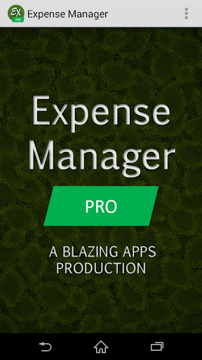 Download Expense Manager Pro for Free   Aptoide - Android Apps ...