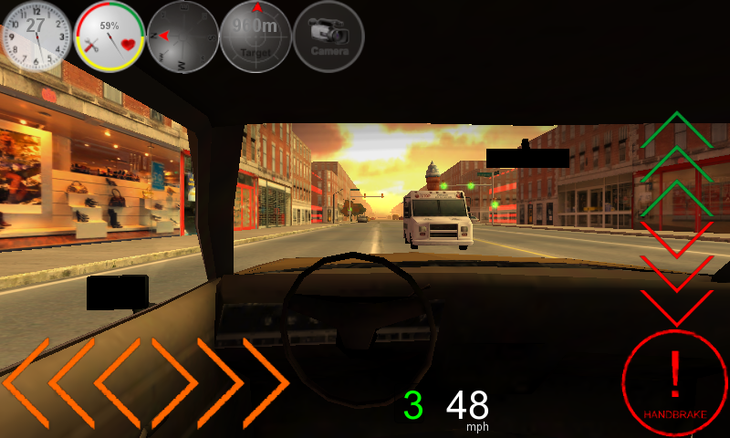 Duty Driver Taxi LITE- screenshot