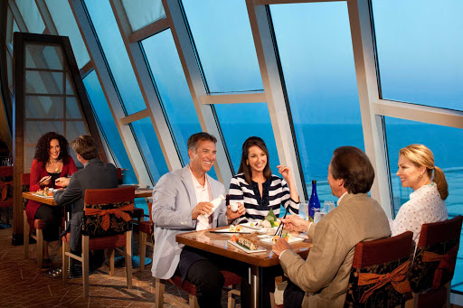 Grandeur-of-the-Seas-Izumi - Head to Izumi, the Japanese restaurant on Grandeur of the Seas, for hand-rolled sushi.