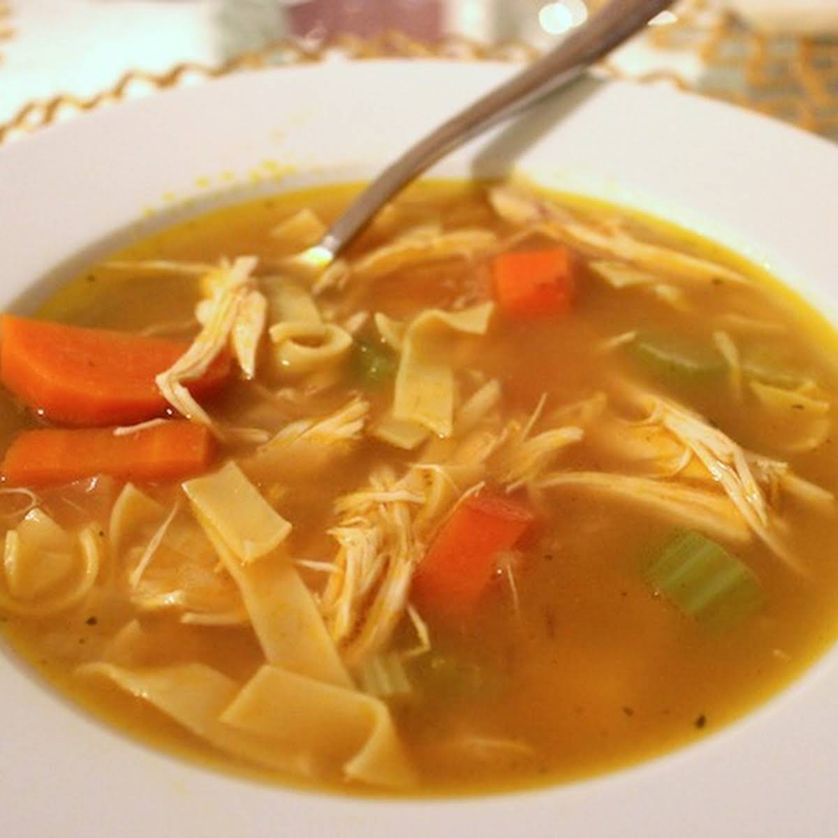 Secret Chicken Noodle Soup