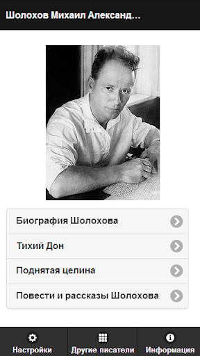Шолохов М.А. Pro